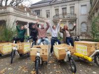 Bookbikes radeln für BVL Jubiläum!